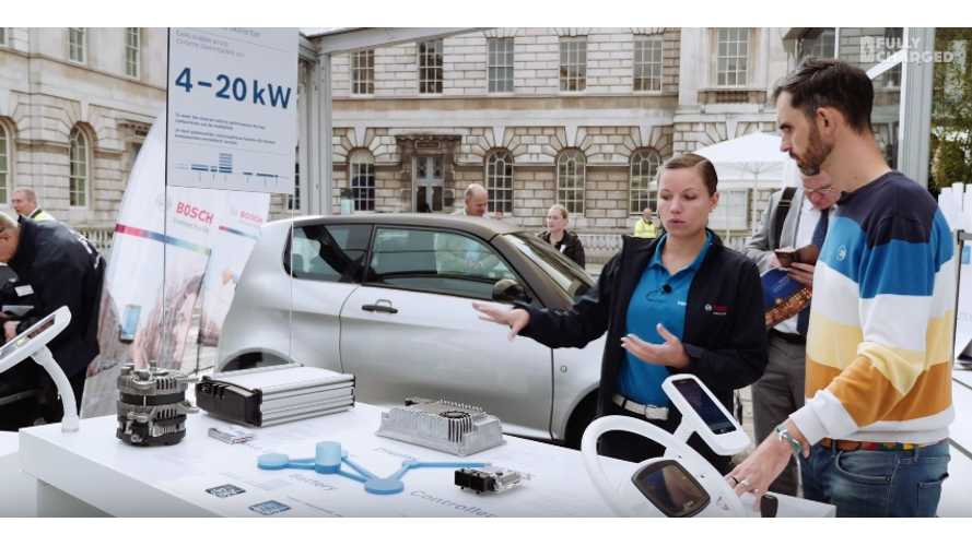 Fully Charged Visits Bosch's TransforMOTION Event - Video