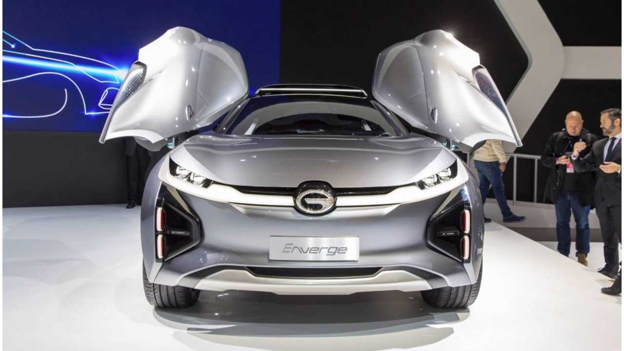GAC Enverge Electric CUV: 373-Mile Range, 10-Minute Charge For 240 Miles