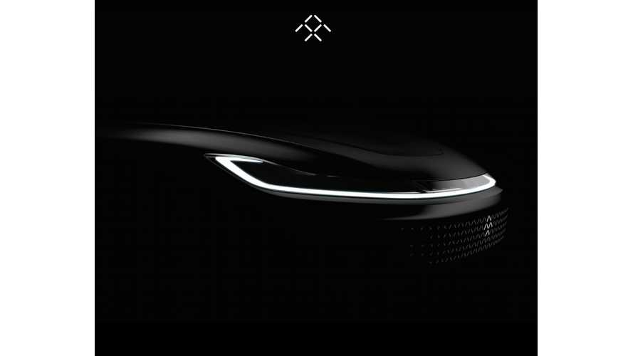 Faraday Future Production EV Teaser Released, Full Reveal January 3rd