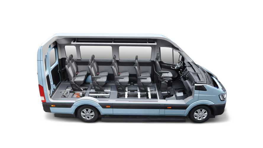 Hyundai Introduces H350 Fuel Cell Concept