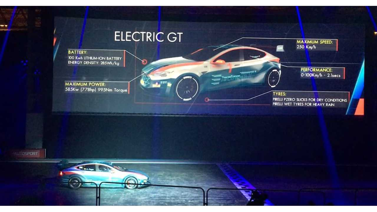 Electric GT Unveils Tesla Model S P100D Capable Of Hitting 60 MPH In Just 2 Seconds