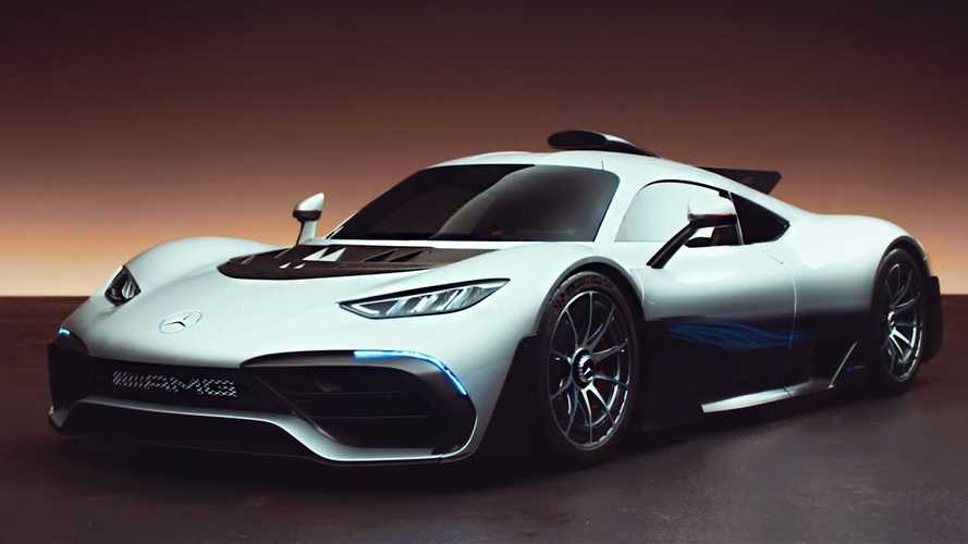 Mercedes-AMG One Gets Inspected By Top Gear: Video