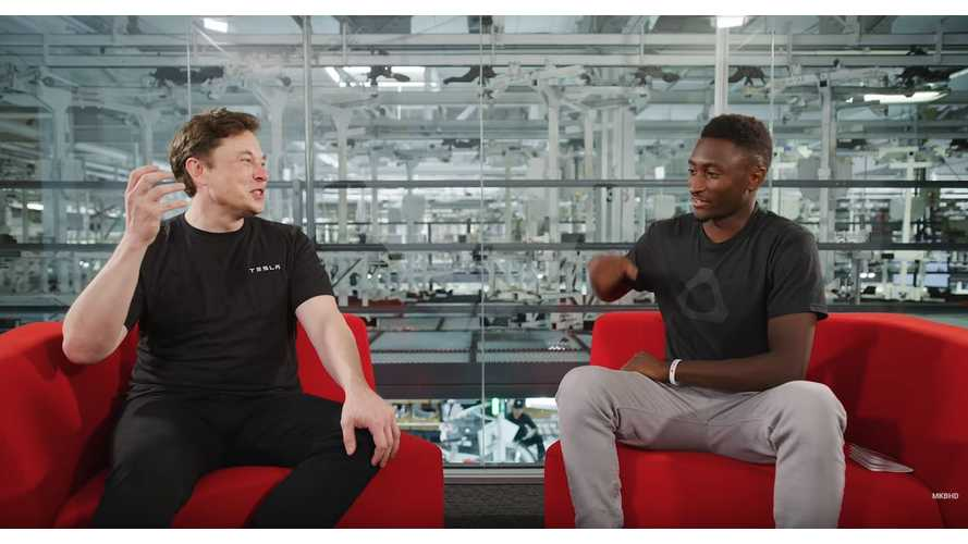 Musk Talks Tesla & Automaker's $25,000 Future Car With MKBHD