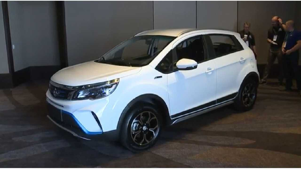 Kandi Unveils New Electric Car And SUV In ... U.S.