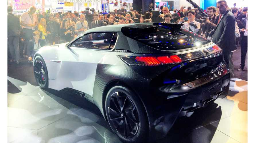 Electric Urban Coupé Fractal From Peugeot At Frankfurt Motor Show - Videos