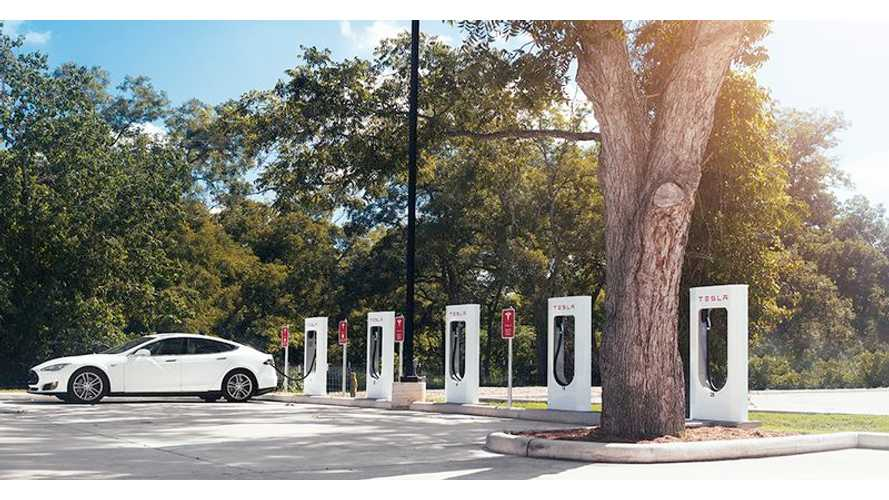 Tesla Supercharger Count Now At 2,800 Points