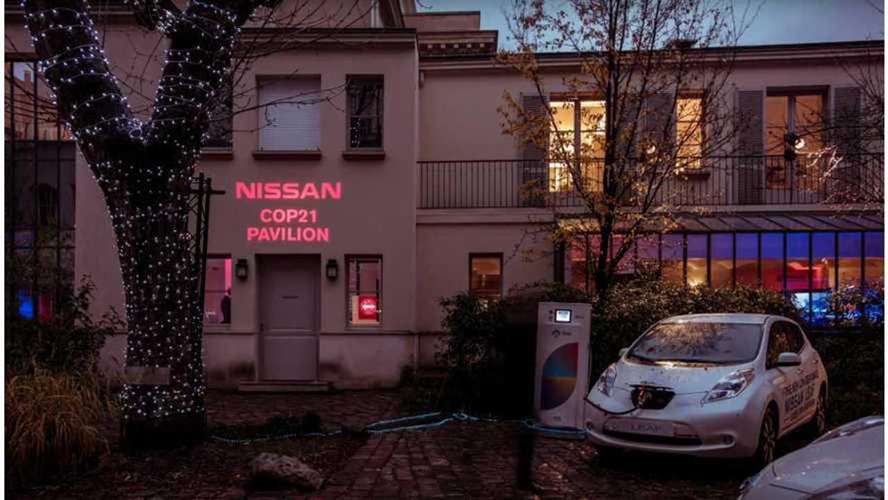 Nissan LEAF at COP21