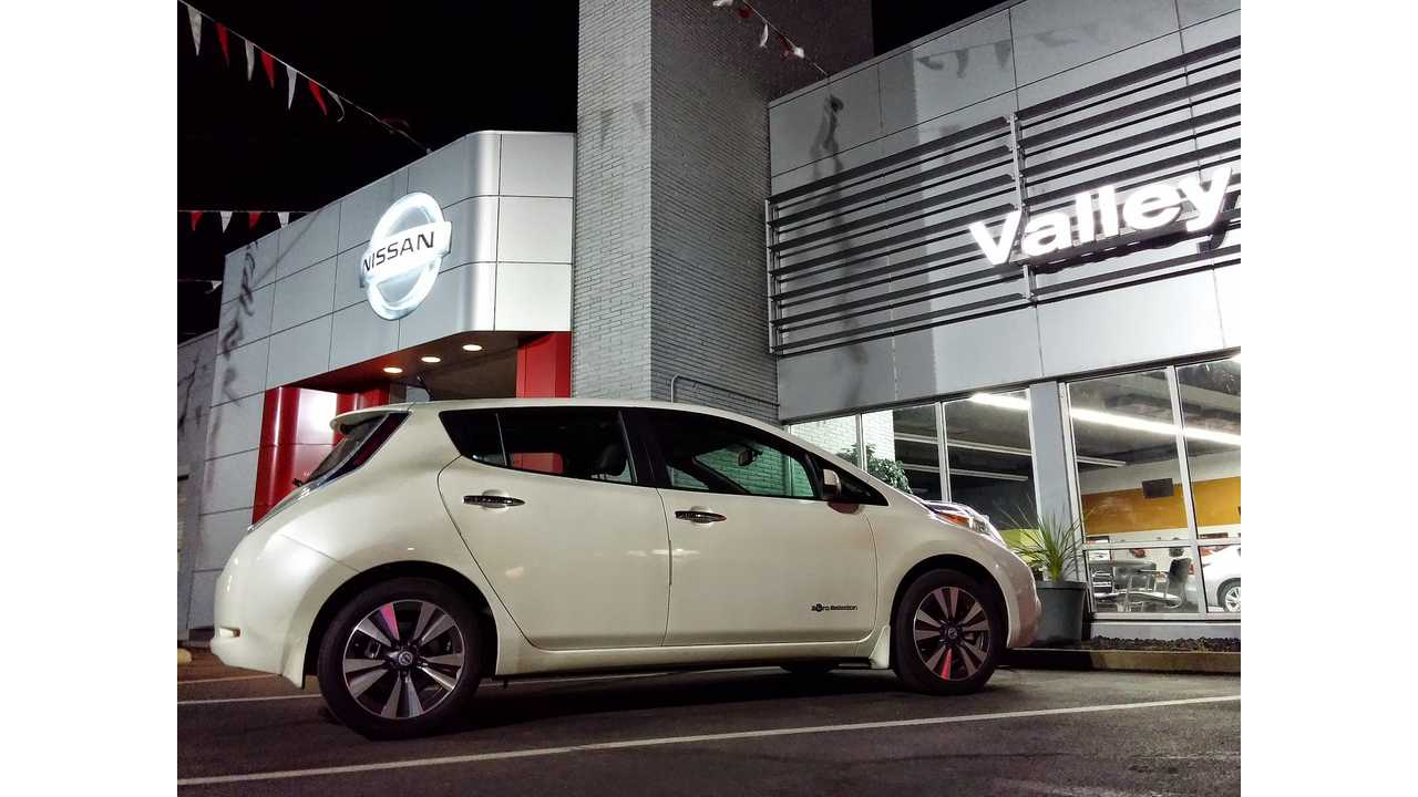 Report A Longer Range Cur Generation 2016 Nissan Leaf On This Fall
