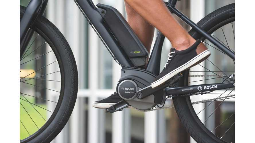 Bosch Encourages Its 100,000 German Workers To Lease E-Bikes