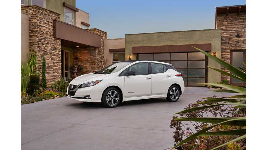 Consumer Reports Drives New 2018 Nissan LEAF