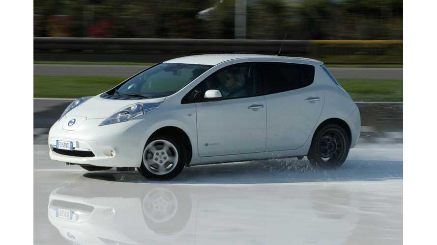 Pope Francis Given A Nissan Leaf, Turns Down Tesla Model S
