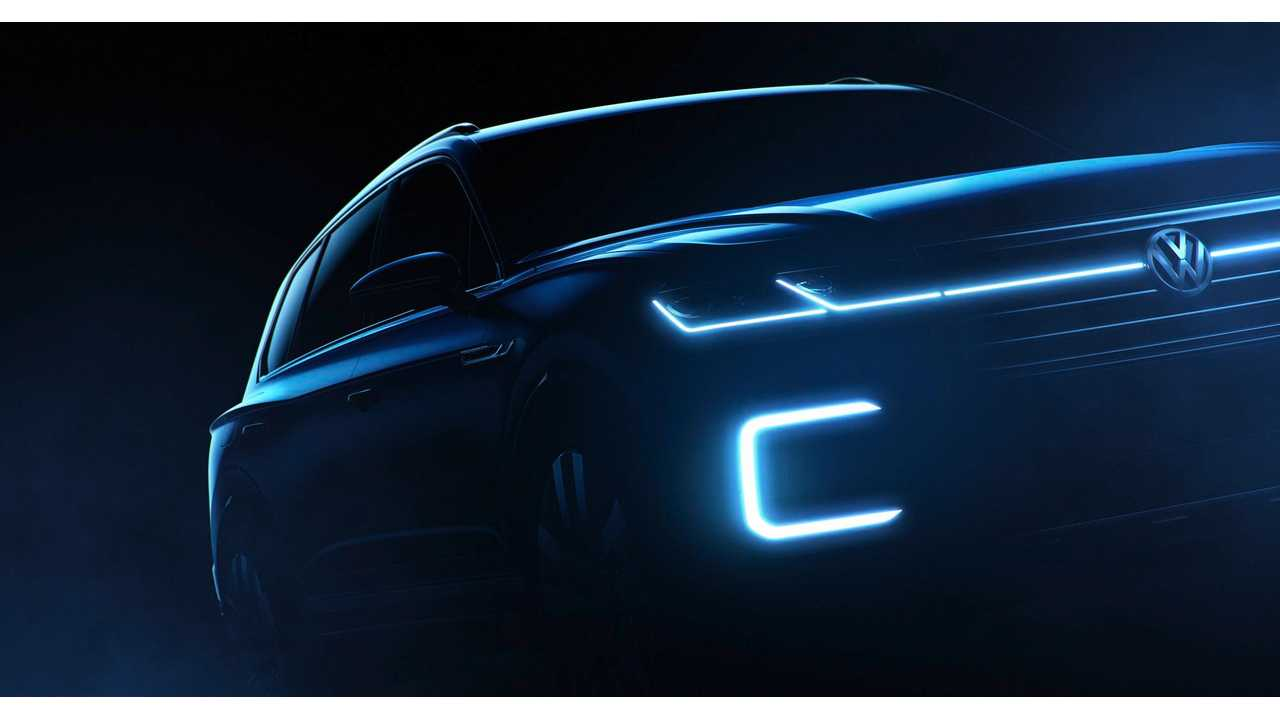 Volkswagen To Unveil Luxury Plug-In Hybrid SUV In Beijing