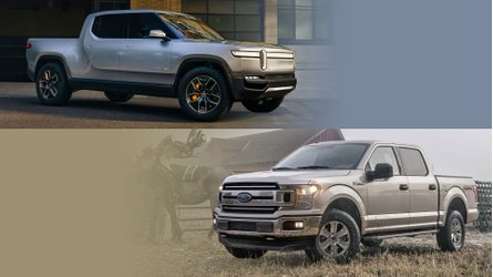 Ford F-150 Versus Rivian R1T Electric Truck: Let's Take A Look: Video