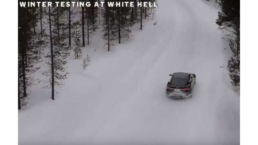 Watch This Nokian Winter Tire Test On Tesla Model S: Video