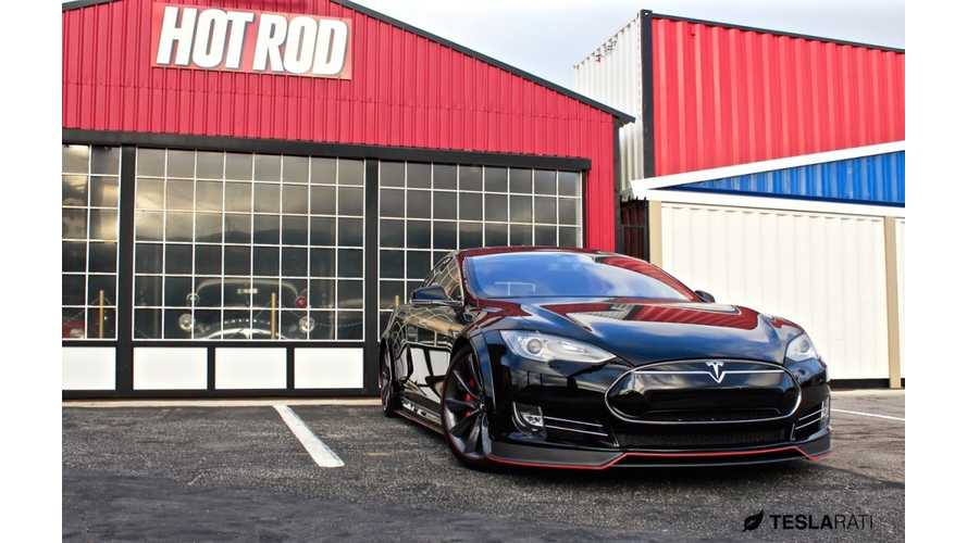 Revosport R-Zentric Tesla Model S Aero Kit