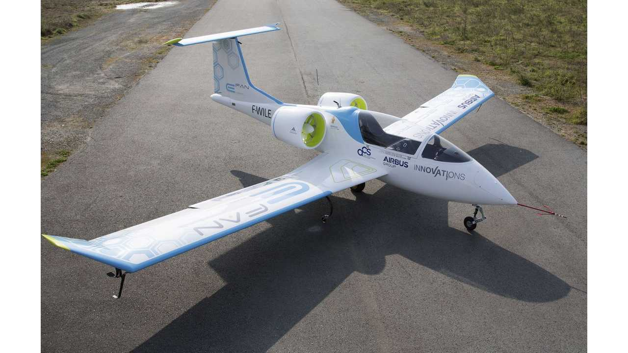 Airbus Group's E-Fan