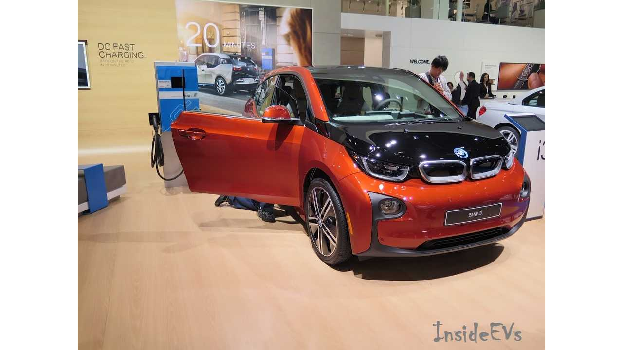 The BMW i3 took Everyone By Surprise In February With Strong Sales (Image: 2015 NAIAS - Tom Moloughney/InsideEVs)