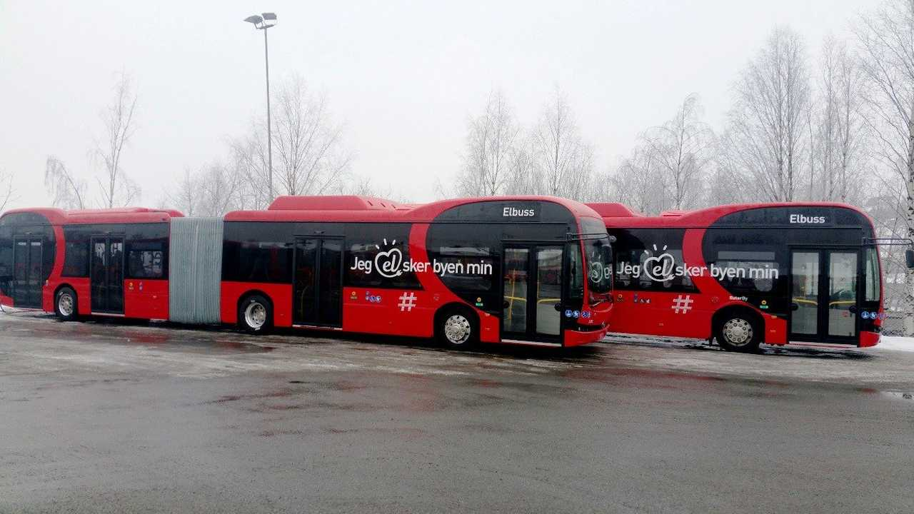 BYD Wins Order For Large Fleet Of 42 Articulated Buses In Norway