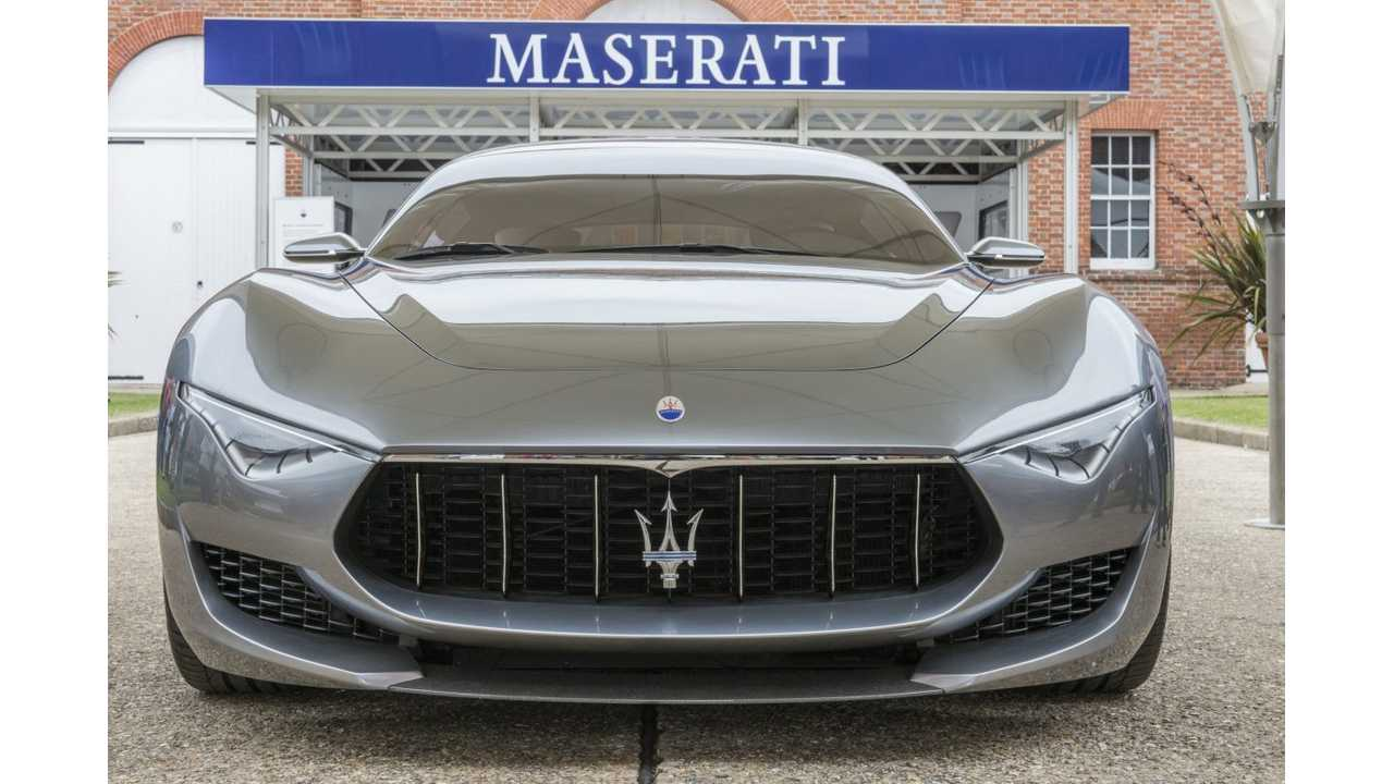 Maserati Alfieri Elektromos Reveal szett a 2020-as genfi autókiállításhoz