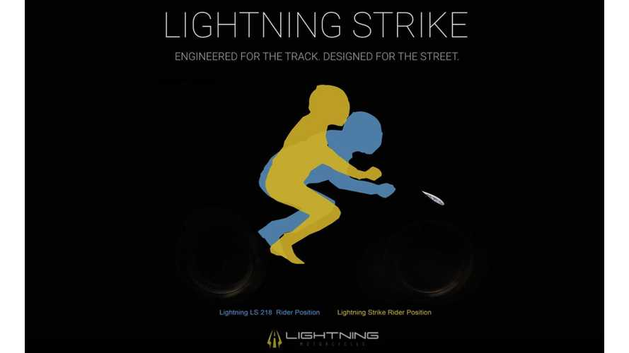 Lightning Shows How New Strike Electric Motorcycle Will Ride