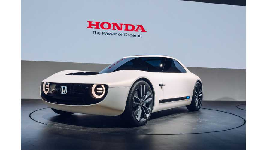 Honda E Prototype To Spawn Into Family Of Small Electric Cars