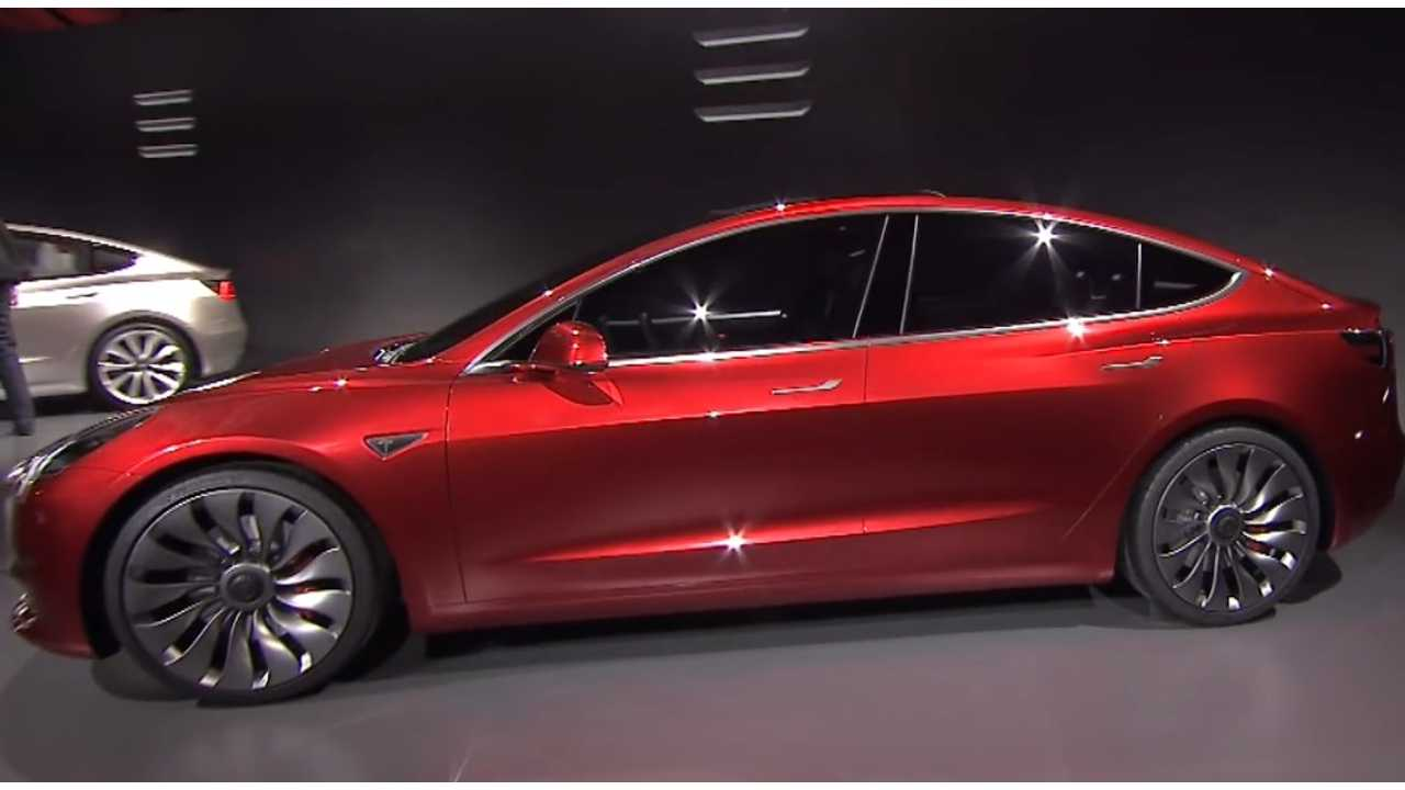 The Tesla Model 3, Announced From $35,000 And