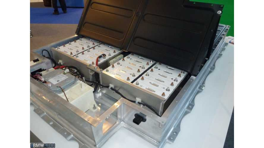BMW Group France Commissions High Voltage Battery Recycling To SNAM