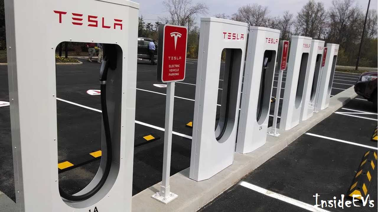 Tesla Supercharging Milestone For June: More Than 1 GWh Delivered To Model S EVs