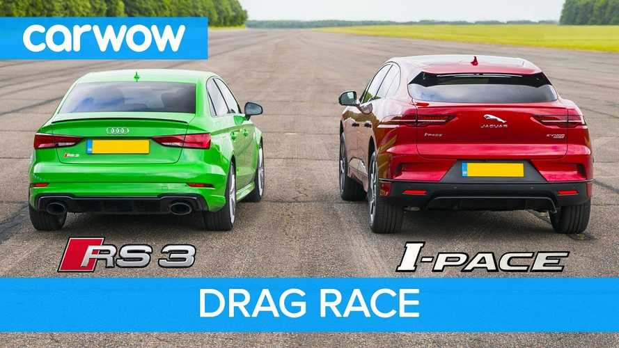 Watch Jaguar I-Pace Race Audi RS 3