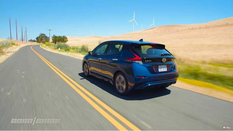Roadshow Tests Nissan LEAF: One Of The Best Truly Affordable EVs