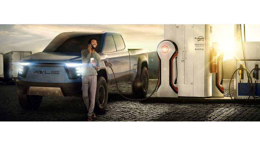 Atlis Pickup Truck Battery Charges In Under 13 Minutes