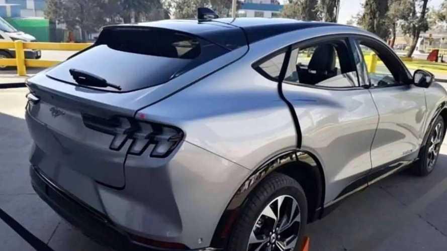 Предсерийный Ford Mustang Mach-E