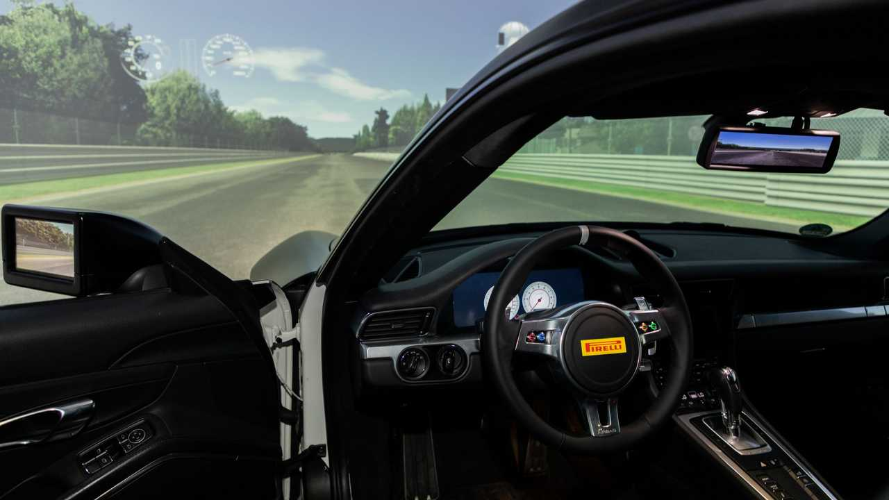 Pirelli de yeni lastik simülatörüne kavuştu