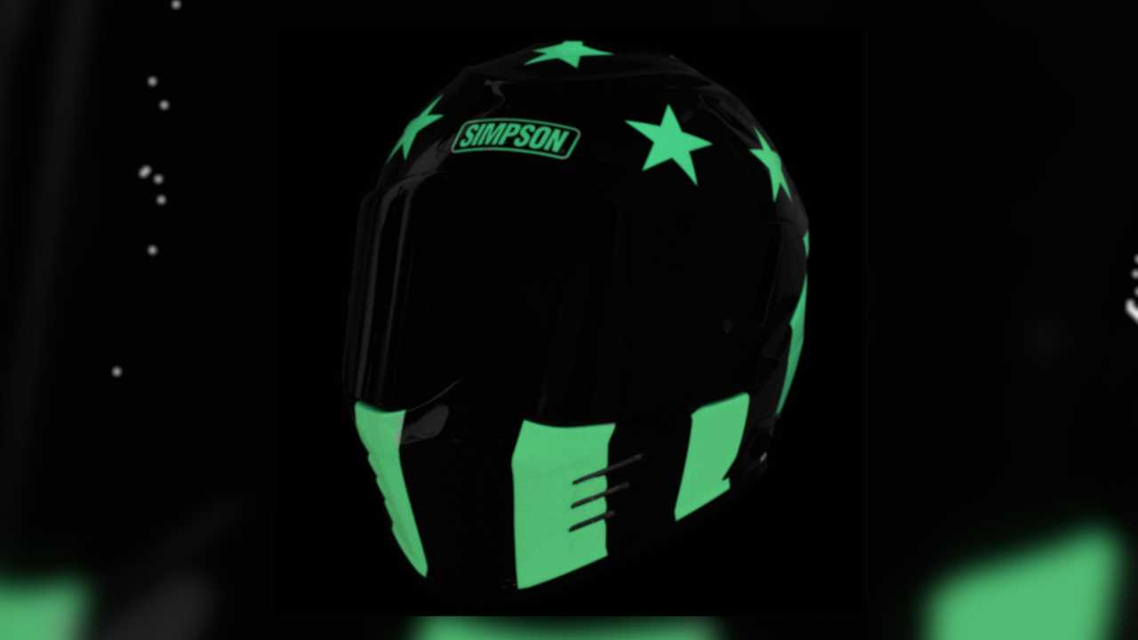 Simpson Aurora Ghost Bandit Helmet