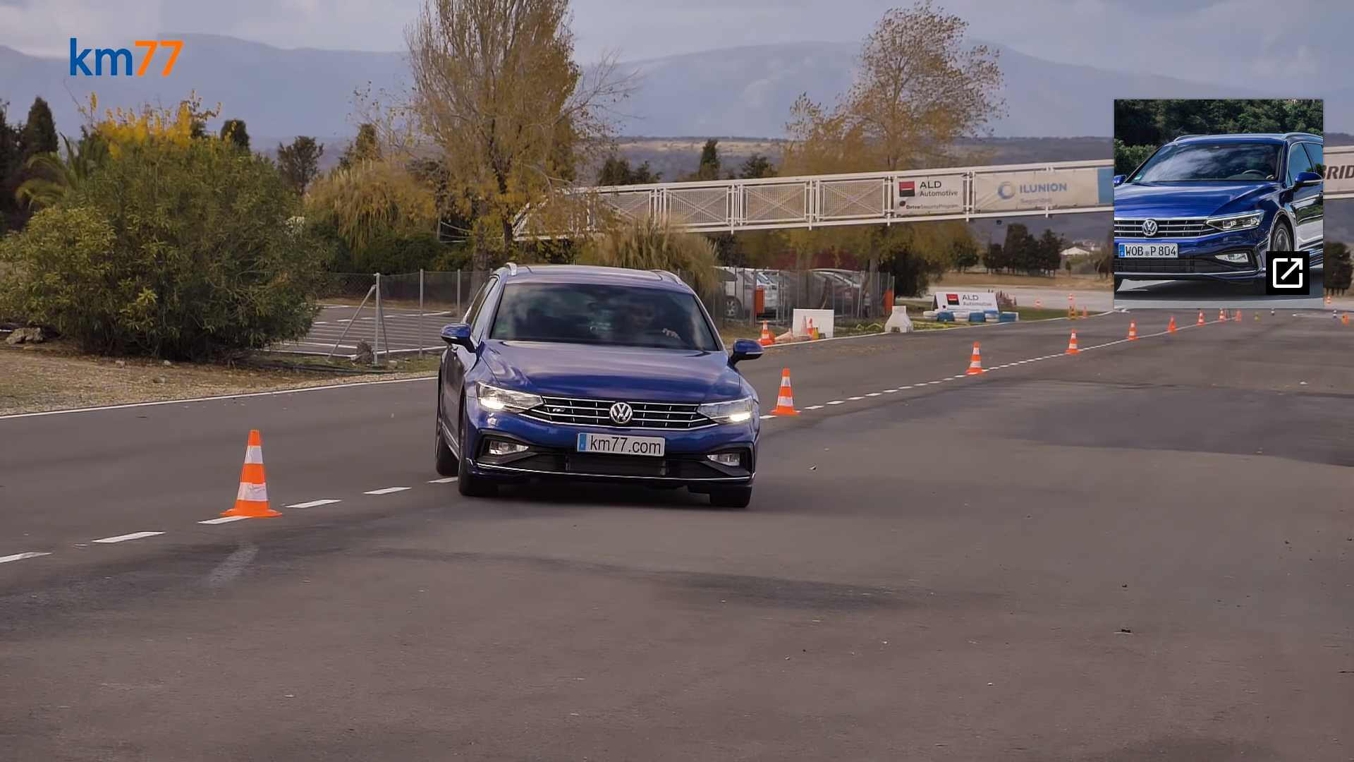 """Лосиный тест"" VW Passat"