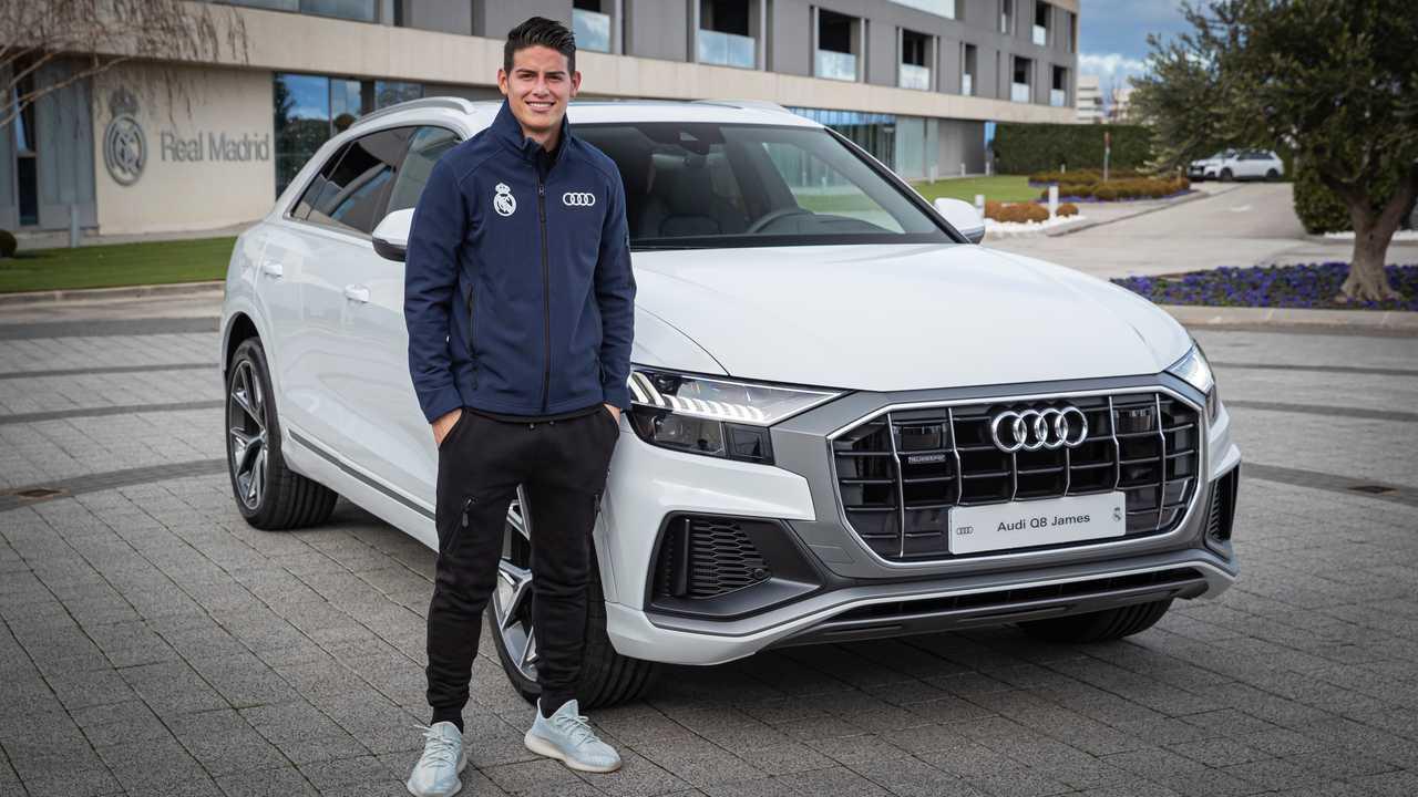 James Rodriguez - Audi Q8
