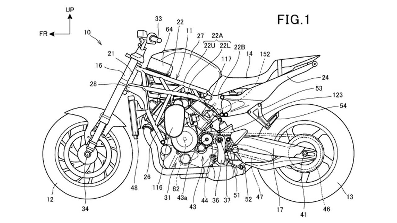 Honda Supercharged V-Twin Patent