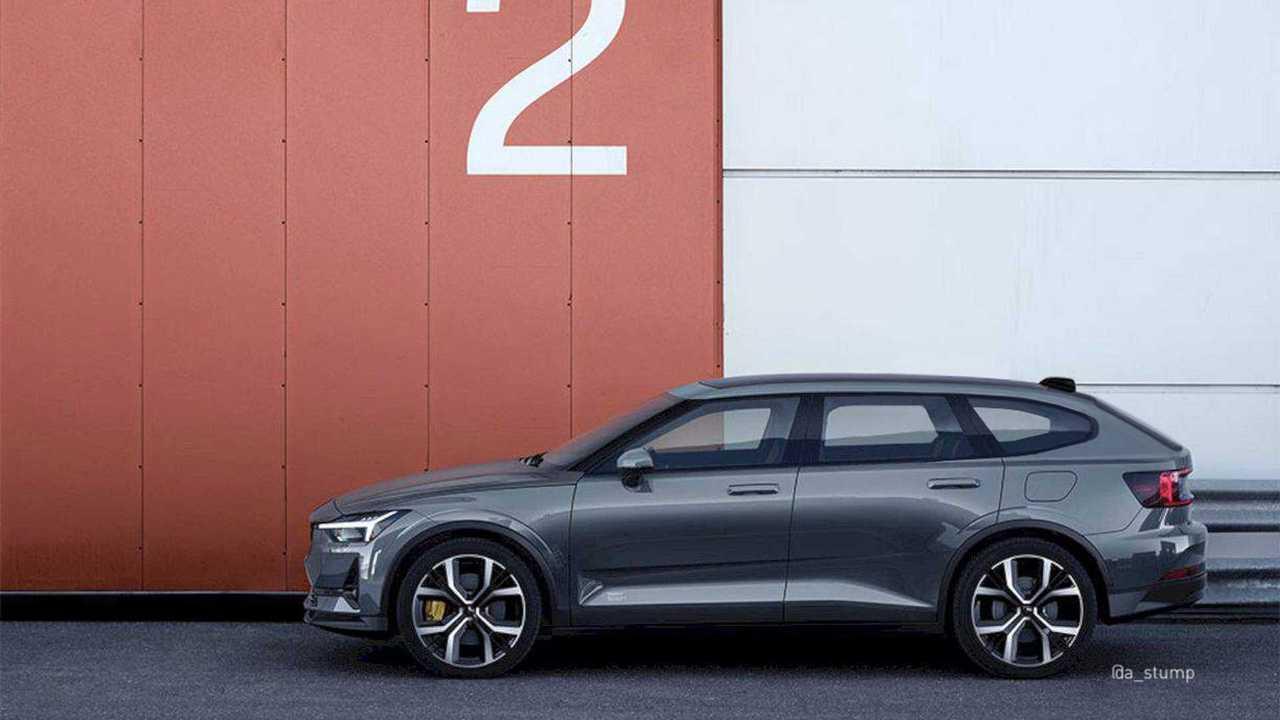 Polestar 2 Wagon, Fastback Renders Reimagine Tesla Model 3, Y Competitor