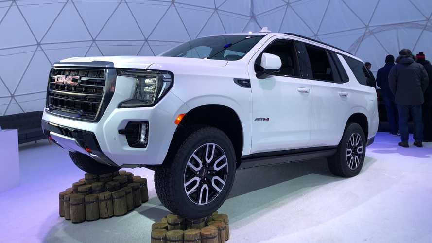 2021 GMC Yukon Debuts With Bold Looks, New AT4 Trim