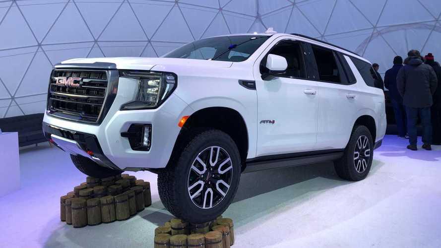 ABD'nin lüks SUV'lerinden GMC Yukon yeni jenerasyonuyla karşımızda