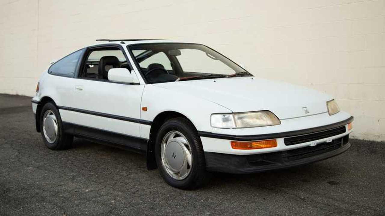 Bone Stock 1989 Honda CRX SiR Is A JDM Unicorn