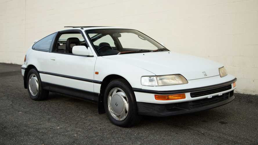 Bone Stock 1989 Honda CRX SiR Is A JDM Unicorn