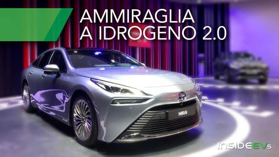 Toyota Mirai, ammiraglia a idrogeno atto secondo