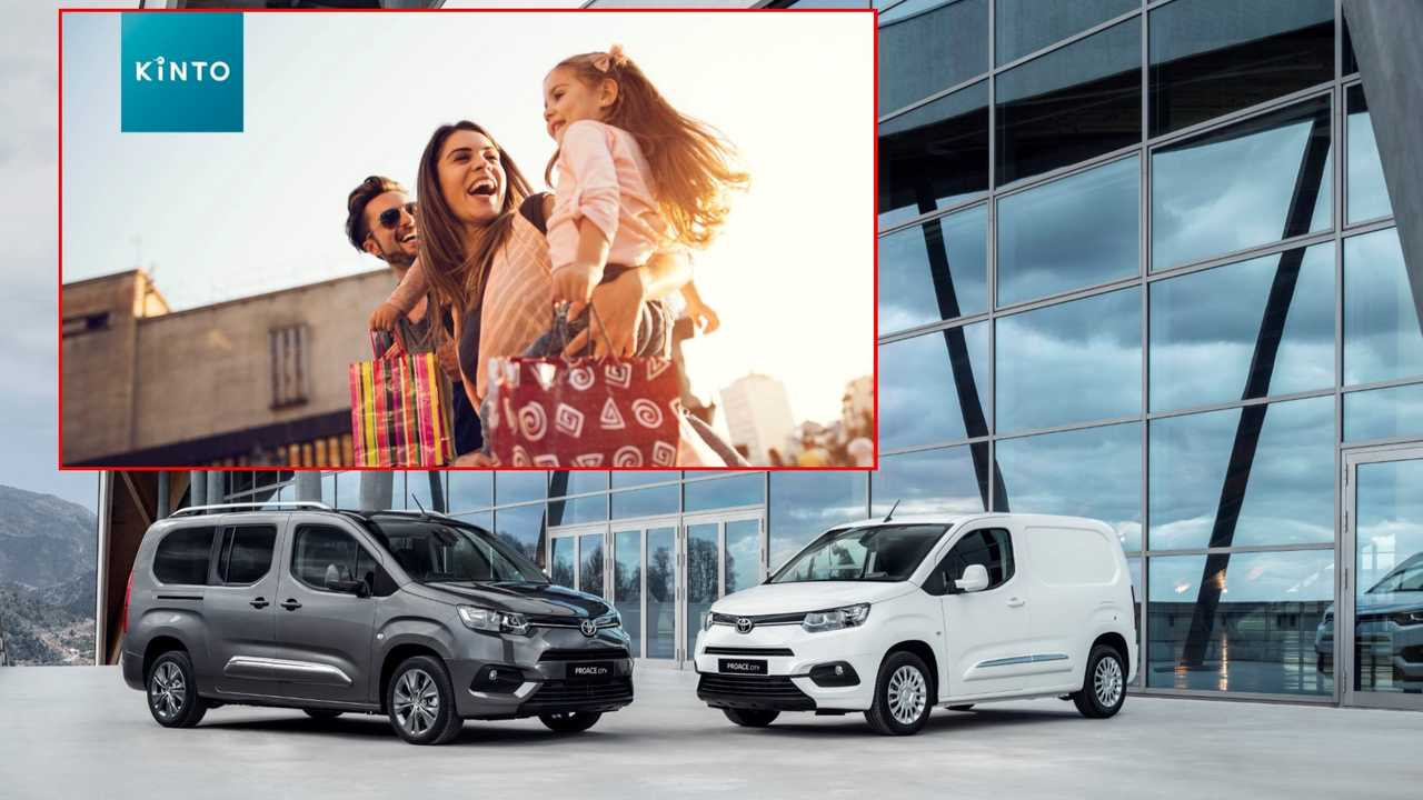 Kinto One, nasce il noleggio by Toyota