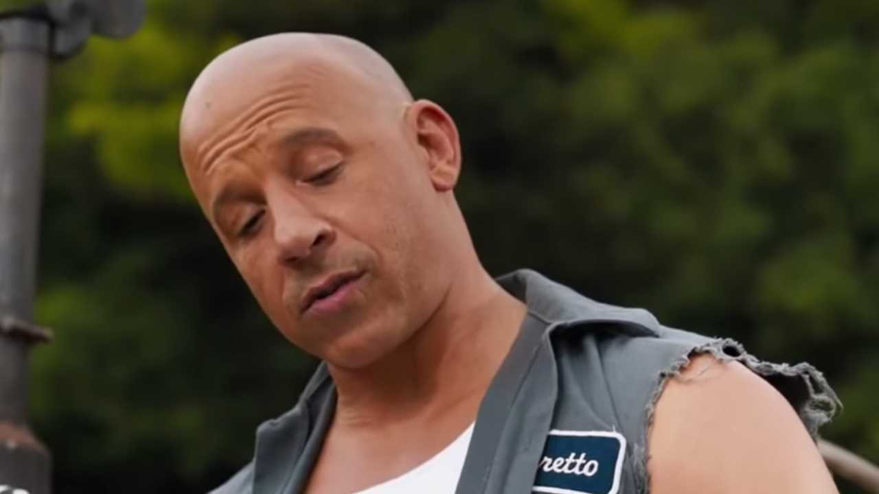 Vin Diesel as Dominic Toretto in the upcoming movie F9.