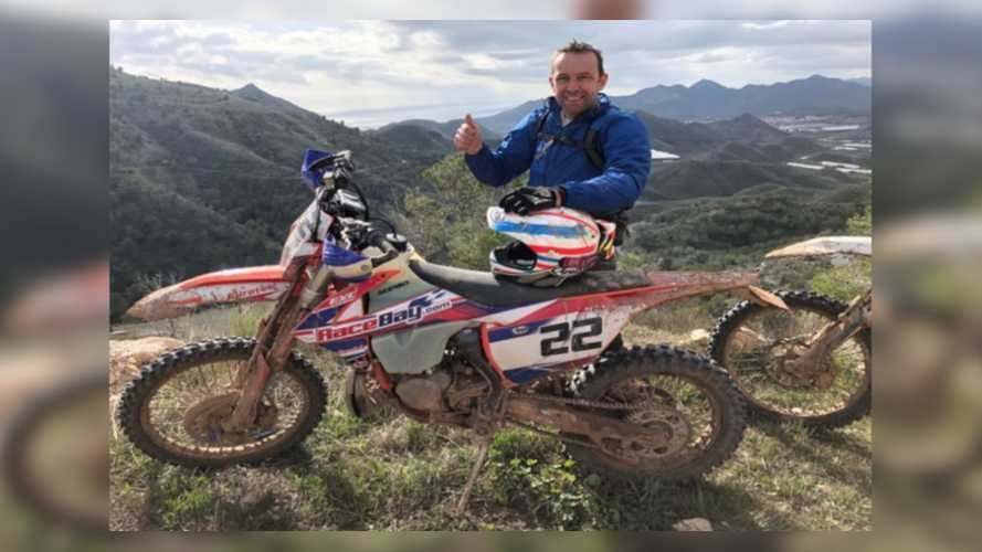 TT And Road Race Legend Steve Plater Recovering From Enduro Crash