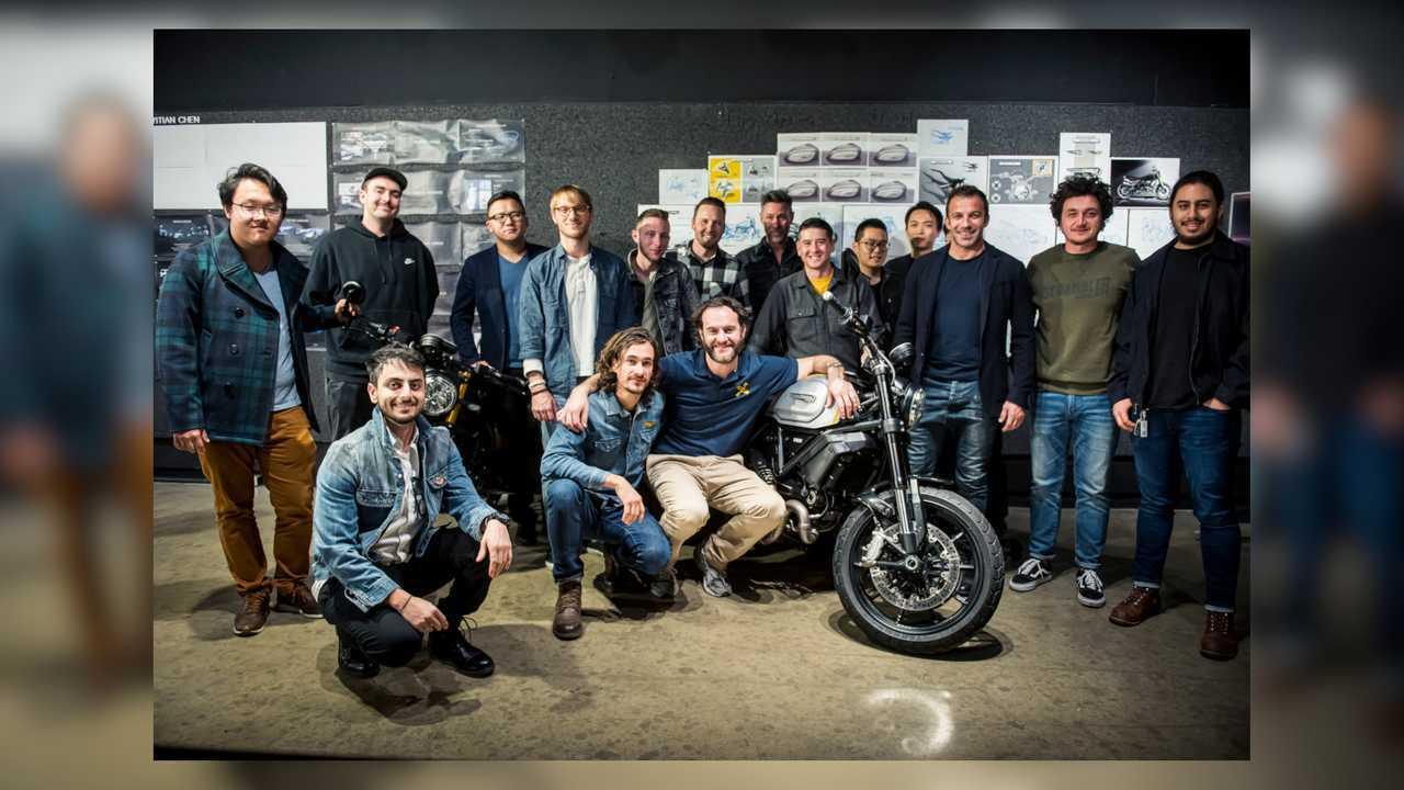 Ducati Scrambler 1100 Pro and Sport Pro At ArtCenter College of Design