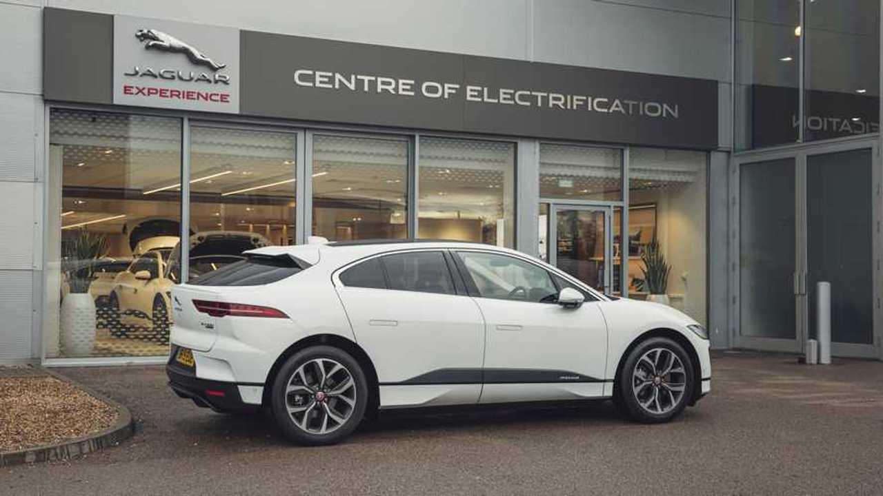 Jaguar I-Pace carbon neutral tour