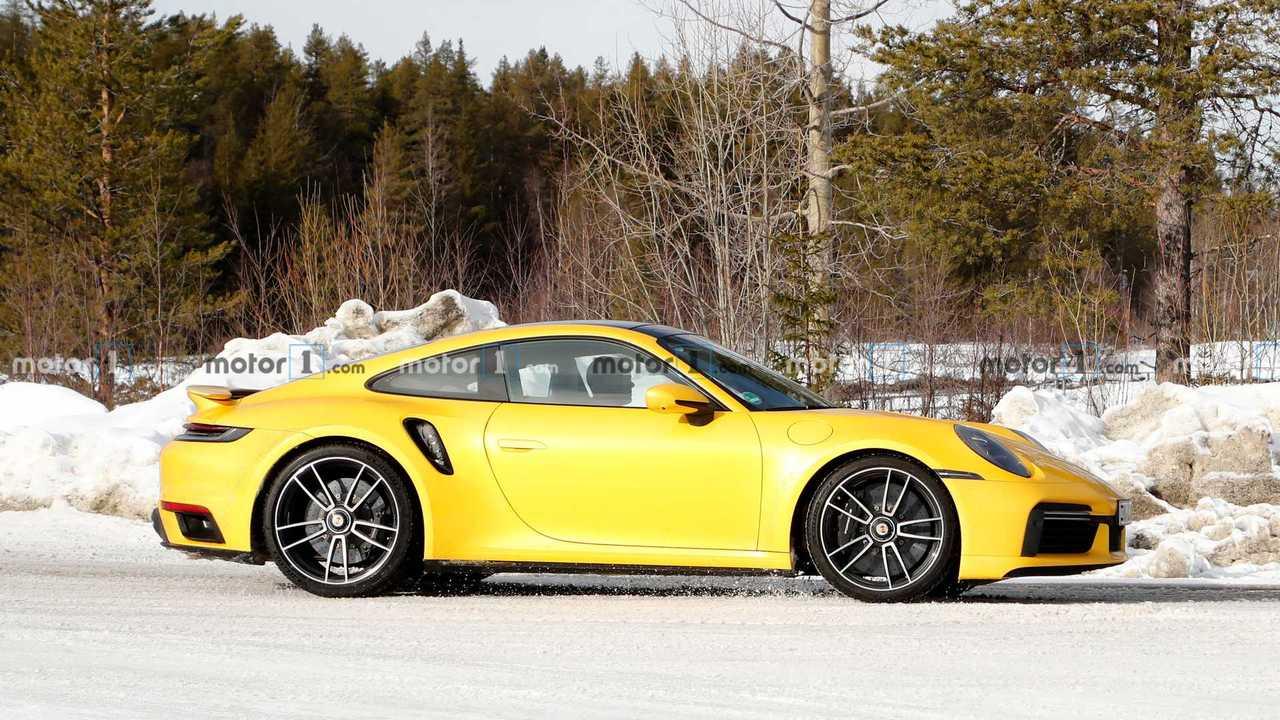 New Porsche 911 Turbo S Looks Delicious In Yellow