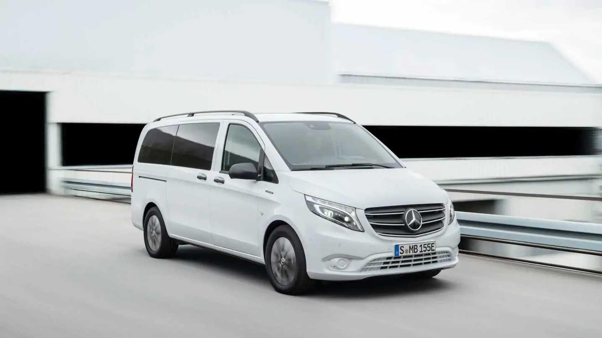 2020 Mercedes-Benz Vito and eVito